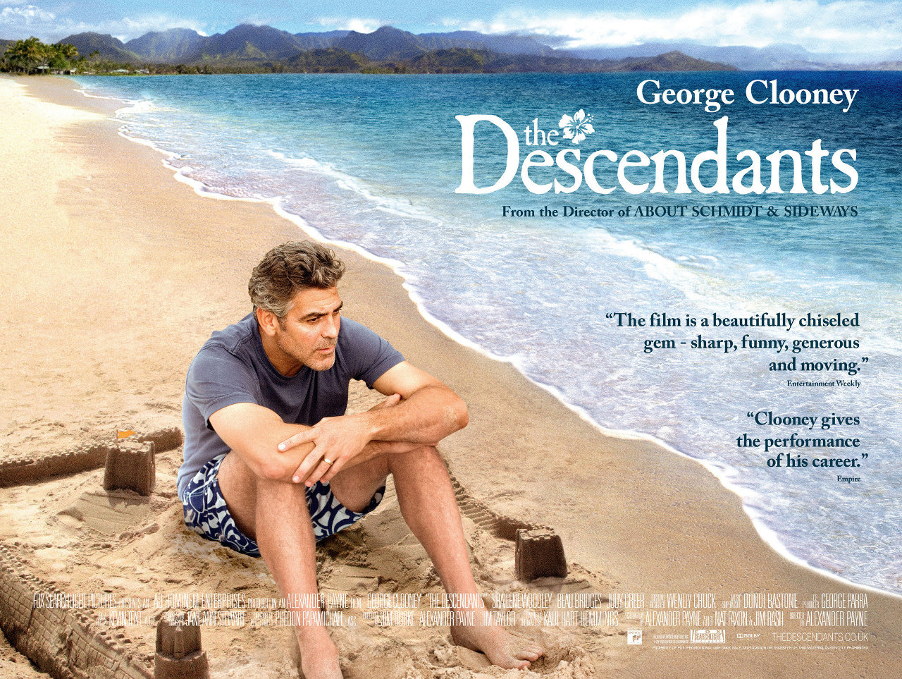 Clima havaiano em Os Descendentes