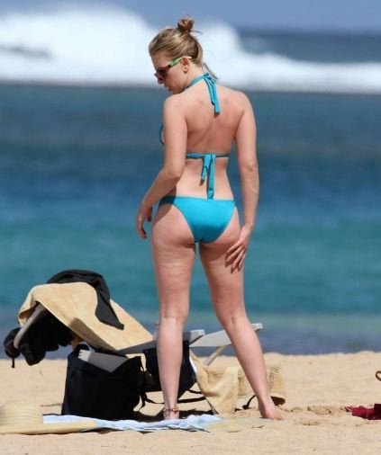 A bunda de Scarlett Johansson