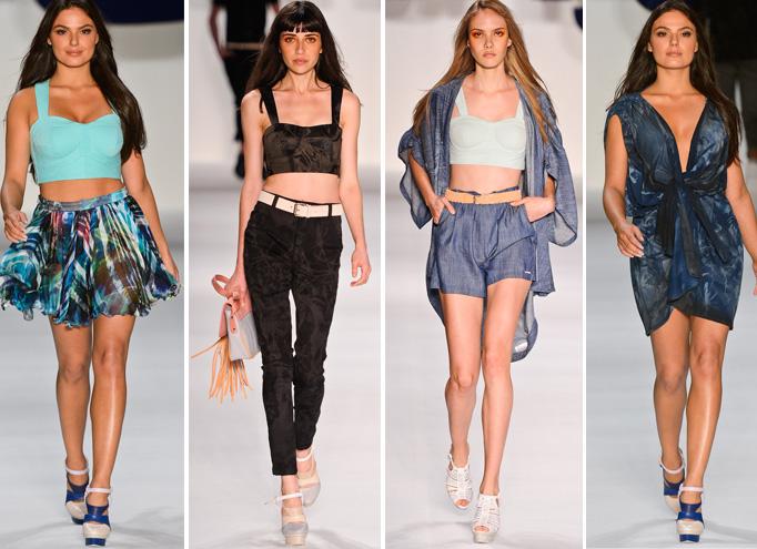 desfile fashion rio verão 2012 coleção tnt