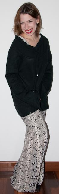como usar saia sereia, look inverno, blog de moda