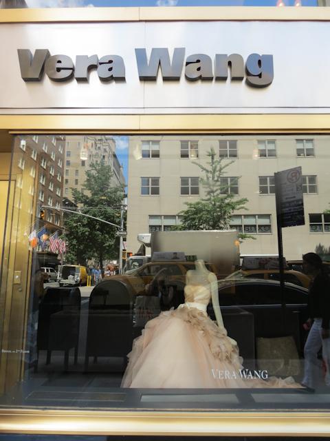 loja Vera Wang em Nova York. Onde comprar vestido de noiva