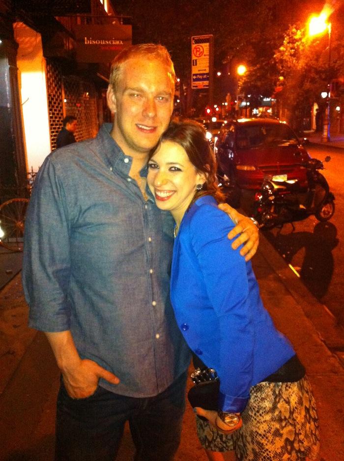 com meu amigo Jay Snodgrass