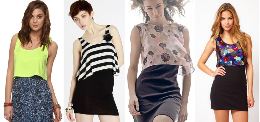 Blog de moda: como usar crop top com vestido