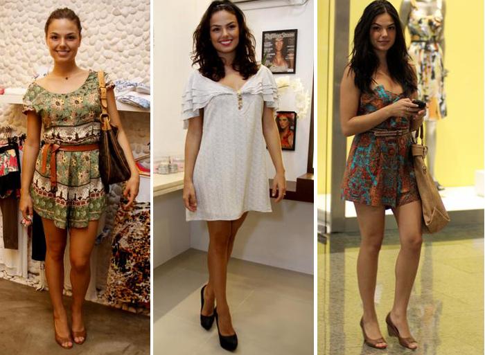 O estilo de Isis Valverde: vestidos