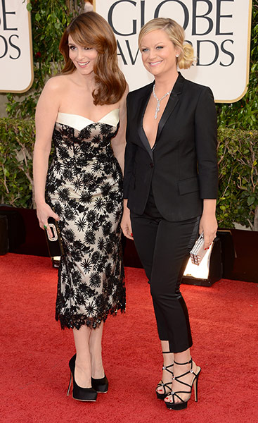 Tapete Vermelho Golden Globes 2013 - Tina Fey L'wren Scott, Amy Poehler Stella McCartney - blog de moda