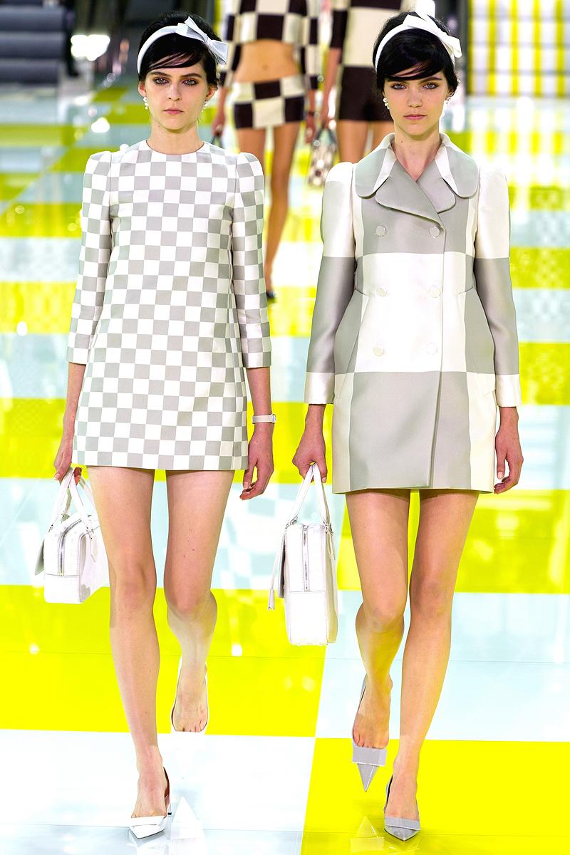 Louis Vuitton coleção primavera 2013 - Louis Vuitton Damier - blog de moda