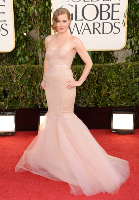 Tapete Vermelho Golden Globes 2013 - Amy Adams - Marchesa - blog de moda