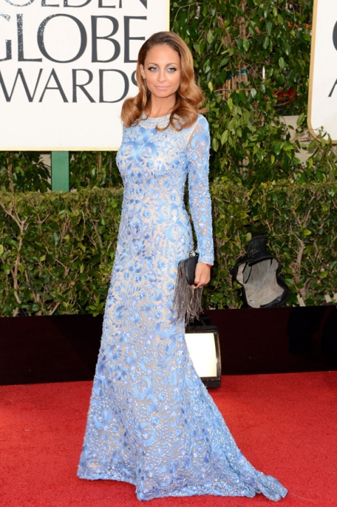 Tapete Vermelho Golden Globes 2013 - Nicole Richie Naeem Kahn - blog de moda