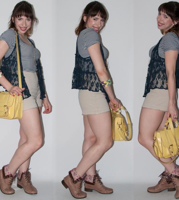 Como usar hot pants e crop top - look do dia - blog de moda