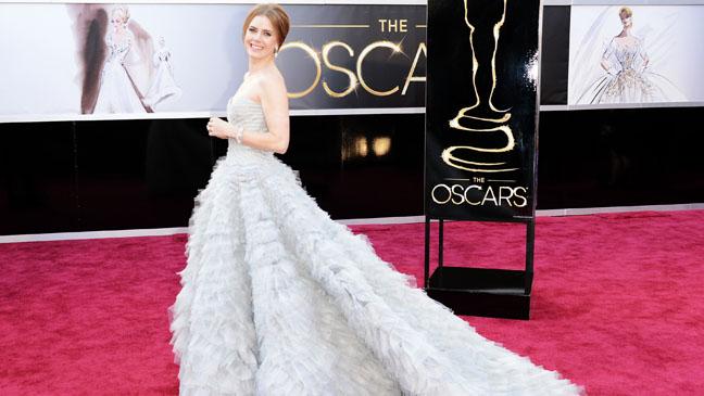Tapete vermelho - looks Oscar 2013 - Amy Adams