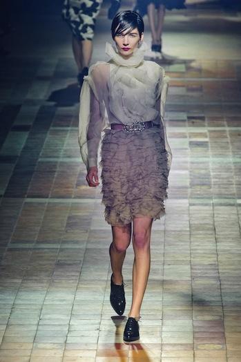 Desfile Lanvin - Paris Fashion Week RTW 2013 - notícias de moda