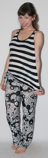 look do dia - como usar calça estampada e mix de estampas - blog de moda-2