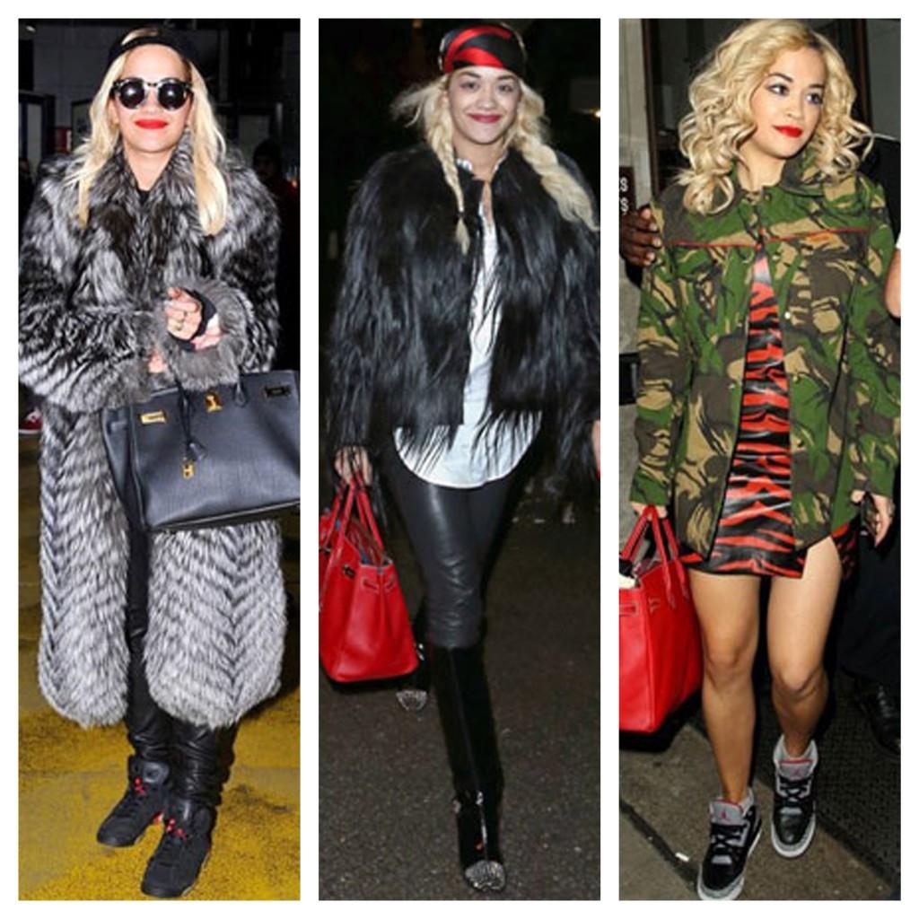 Estilo Rita Ora - dia a dia - blog de moda