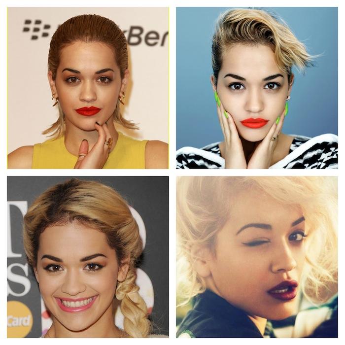 Estilo Rita Ora - maquaigem e cabelo - blog de moda