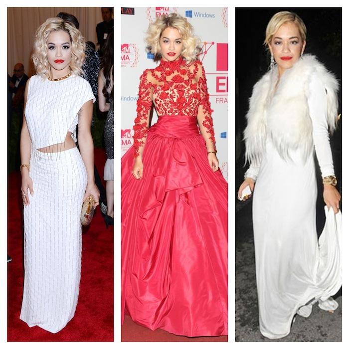 Estilo Rita Ora - Tapete Vermelho - blog de moda