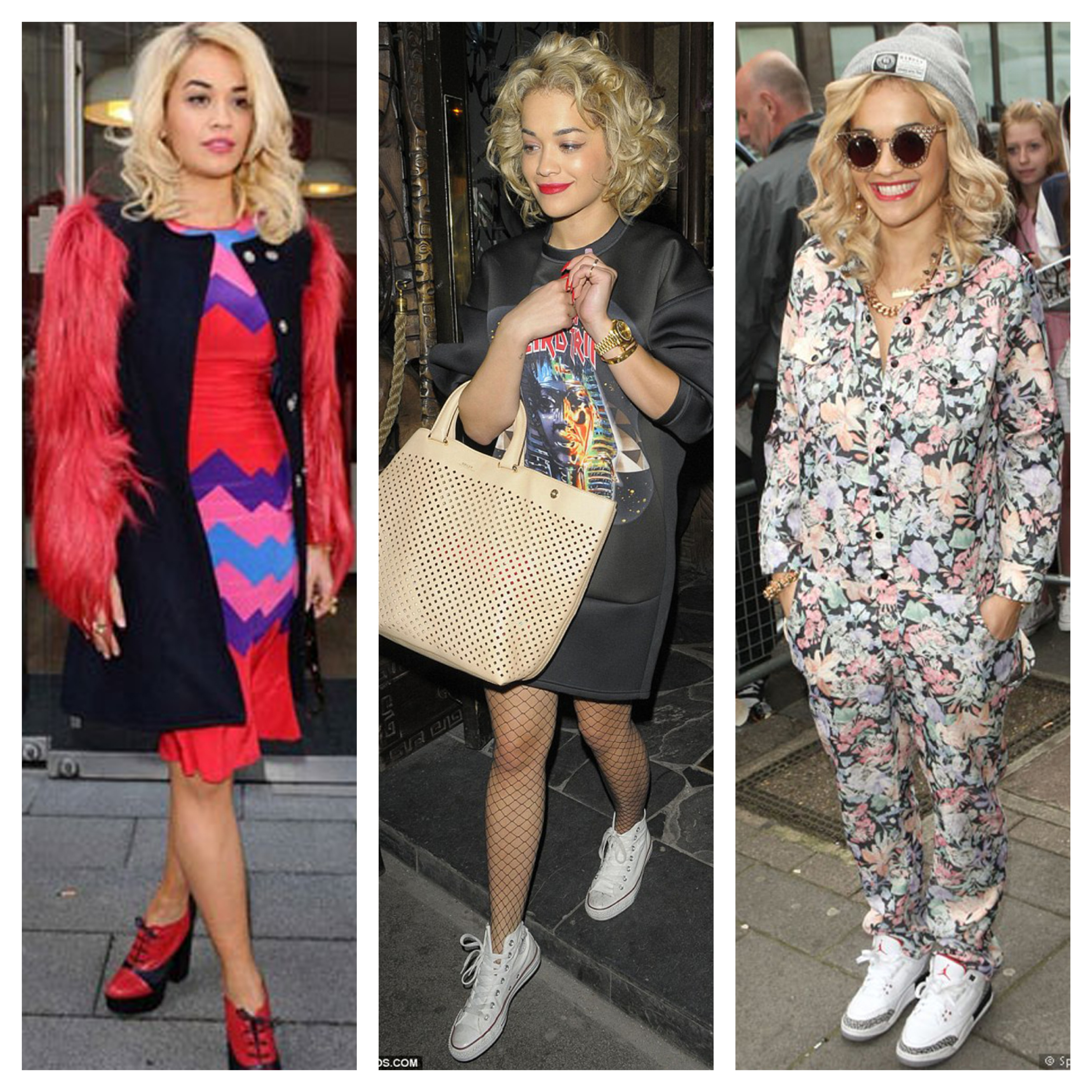 O glamour urbano de Rita Ora