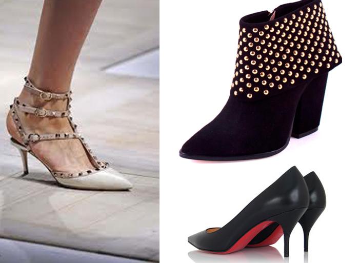 tendências para o inverno 2013 calçados salto kitten heel