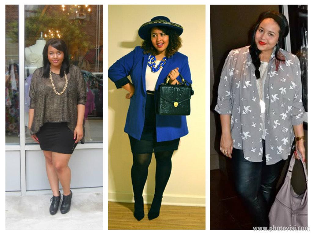 Dicas de moda e looks para gordinhas - blusa comprida