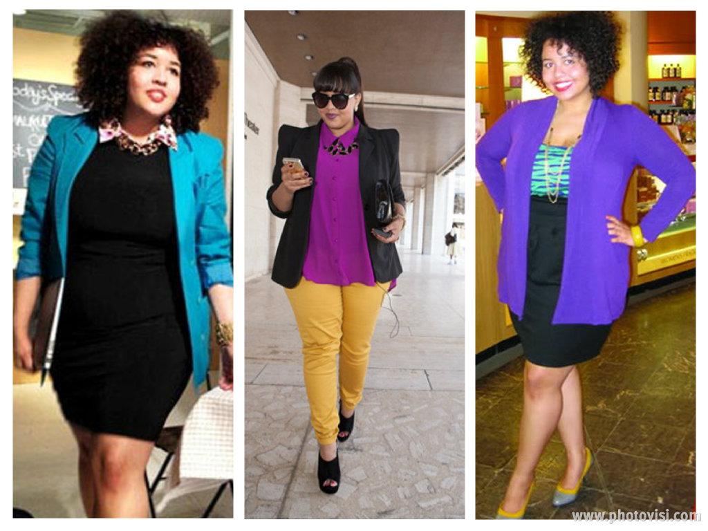 Looks para gordinhas  Dicas de moda e truques de roupa para gordinhas 1c15ea5c2f2