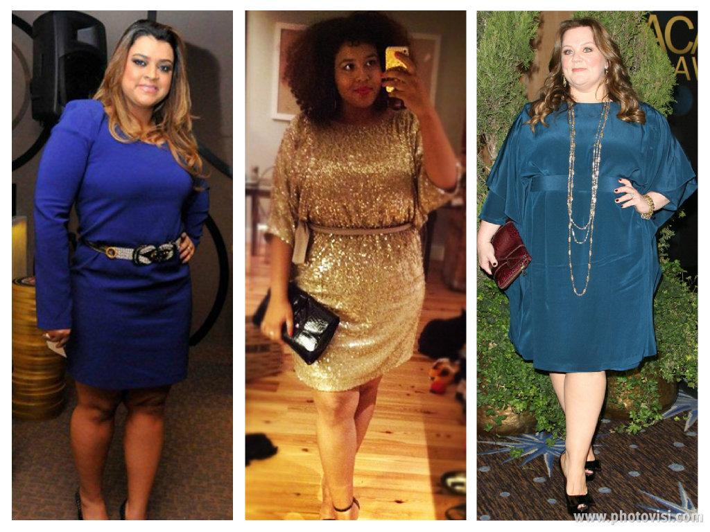 Dicas de moda e looks para gordinhas - vestidos acinturados