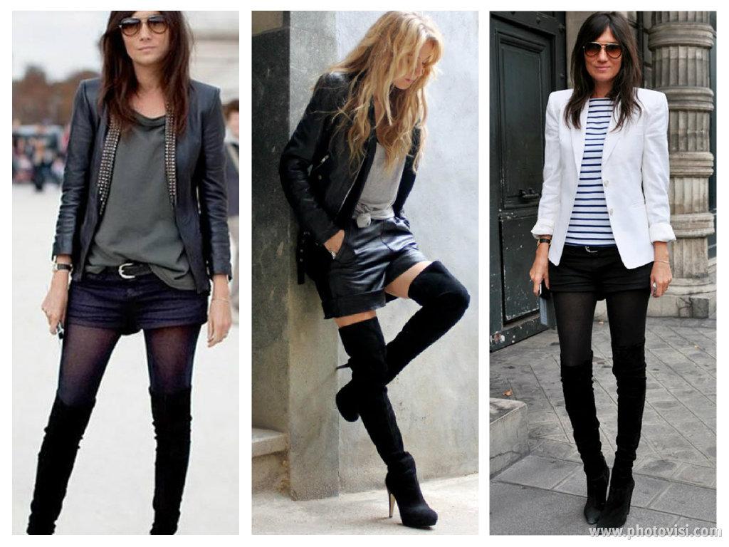 Dicas de moda: Como Usar Botas Over the Knee