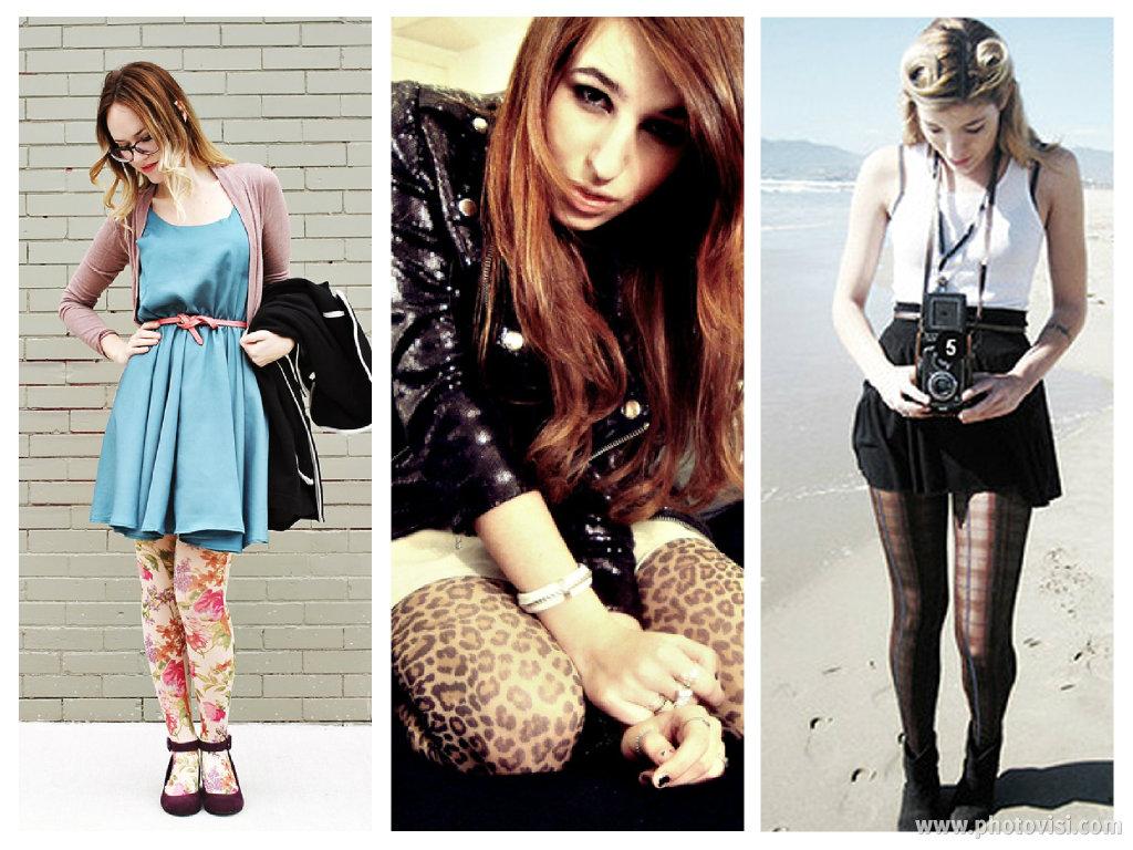 como usar meia-calça estampada - blog de moda
