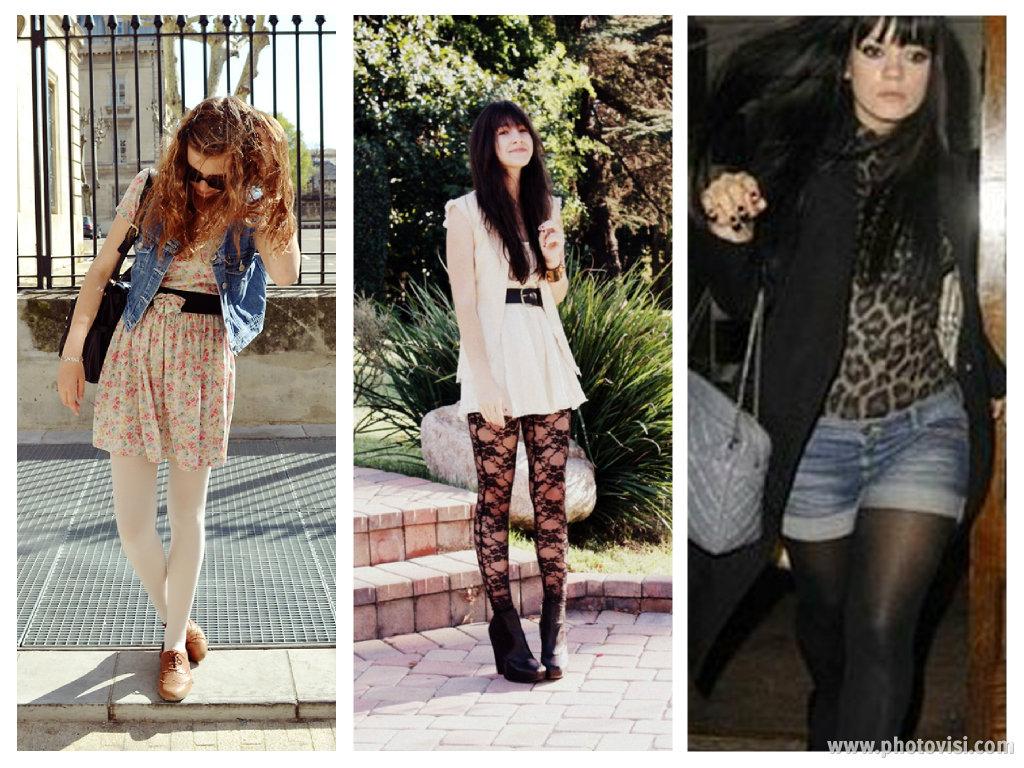 como usar meia-calça para engrossar ou afinar a perna - blog de moda