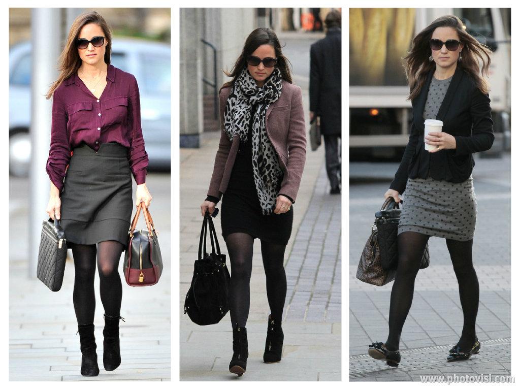como usar meia-calça no trabalho - blog de moda