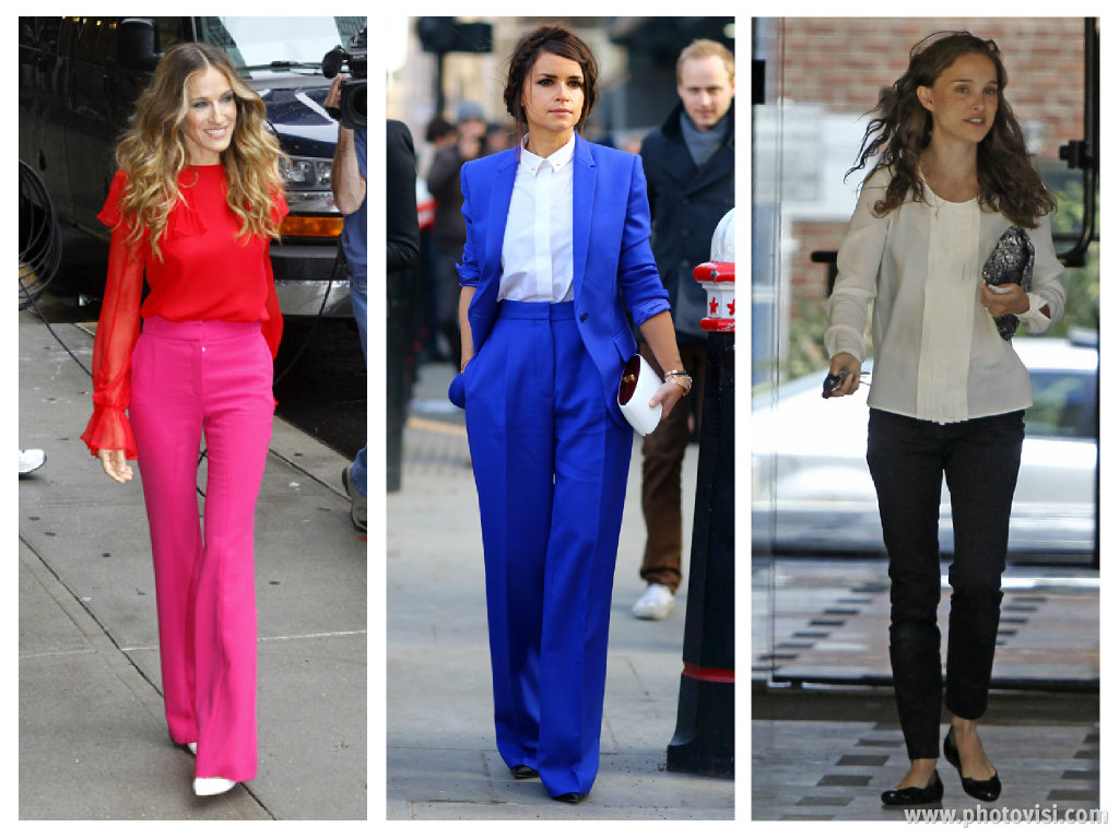 Dicas de moda e looks para baixinhas que querem parecer mais altas - calças