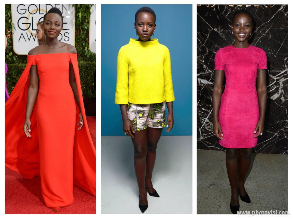 o estilo de Lupita Nyong'o - Coloridos 1