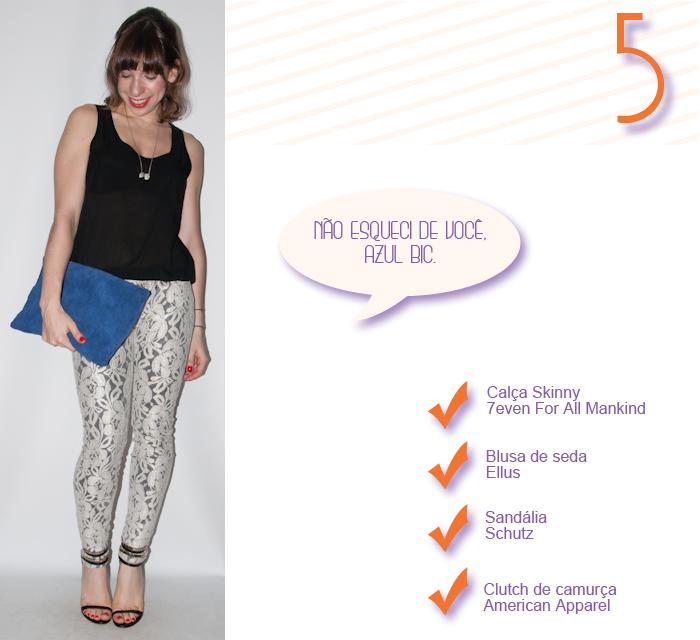 Look do dia- calça skinny de renda - blog de moda 5