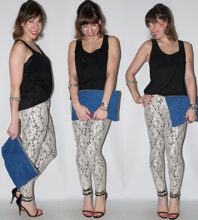 Look do dia- calça skinny de renda - blog de moda 6