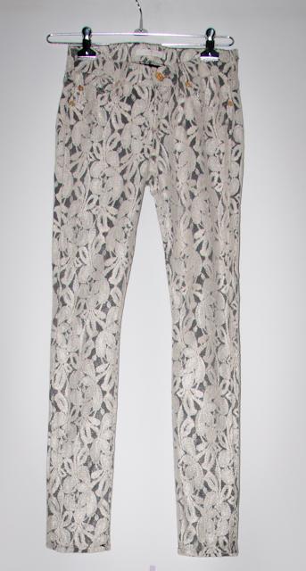 Look do dia - calça skinny de renda - blog de moda - luta do dia