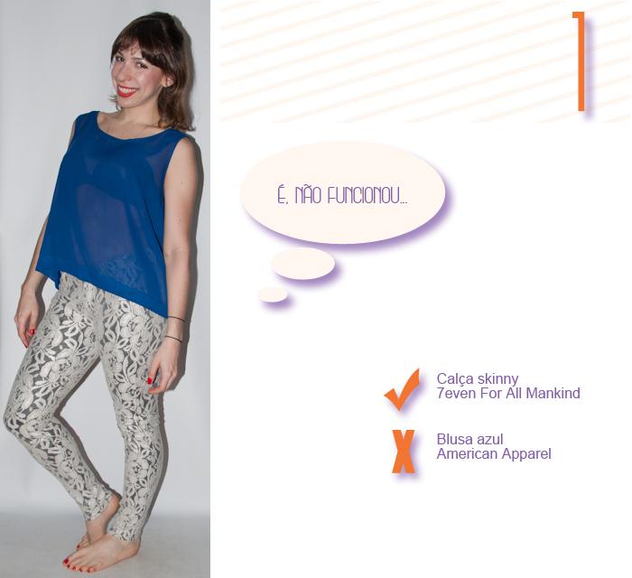 Look do dia- calça skinny de renda - blog de moda