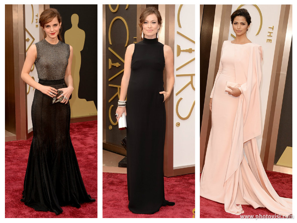 Looks das celebridades no Oscar 2014 - Os acertos
