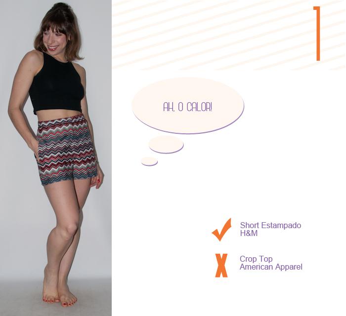 Look do dia - como usar short e colete - luta do dia - blog de moda- 2