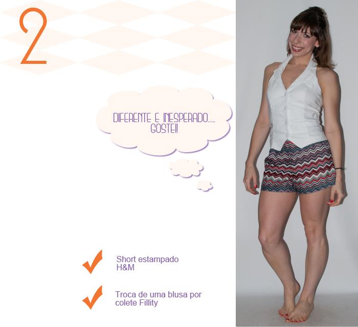 Look do dia - como usar short e colete - luta do dia - blog de moda- 3