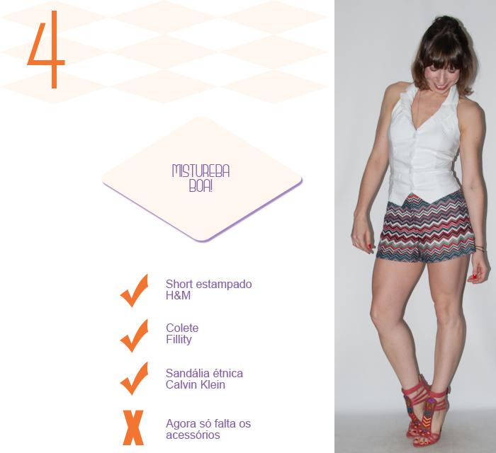 Look do dia - como usar short e colete - luta do dia - blog de moda- 5