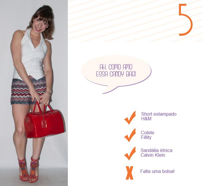Look do dia - como usar short e colete - luta do dia - blog de moda- 6