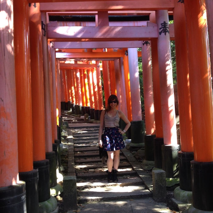 Dicas de Kyoto - Viagem para o Japão - Complexo dos 10 mil toris4