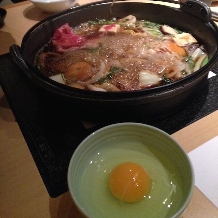 Dicas de Kyoto - Viagem para o Japão - Sukiyaki