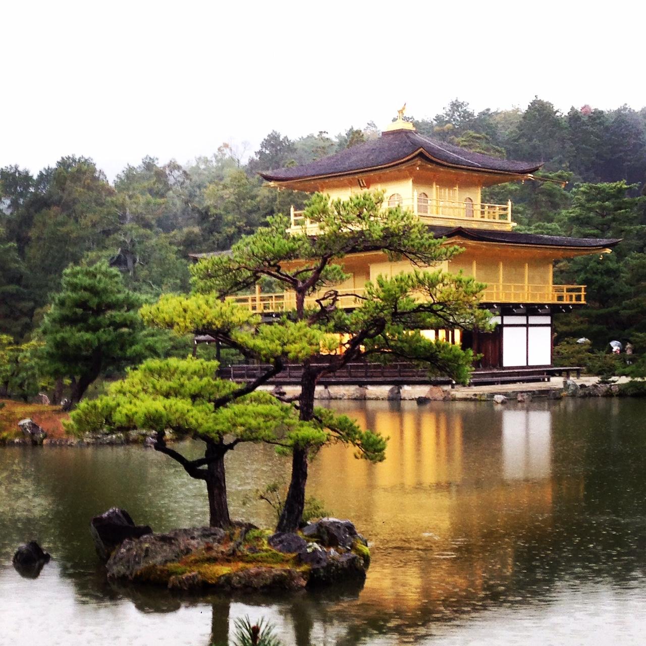 Dicas de Kyoto - Viagem para o Japão - Templo de ouro