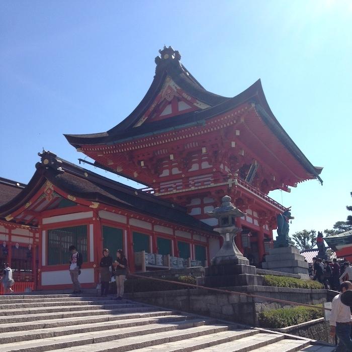 Dicas de Kyoto - viagem para o Japão - 10 mil toris