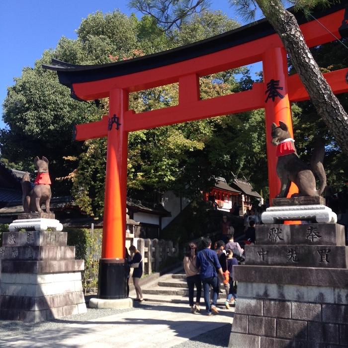 Dicas de Kyoto - viagem para o Japão - 10 mil toris5