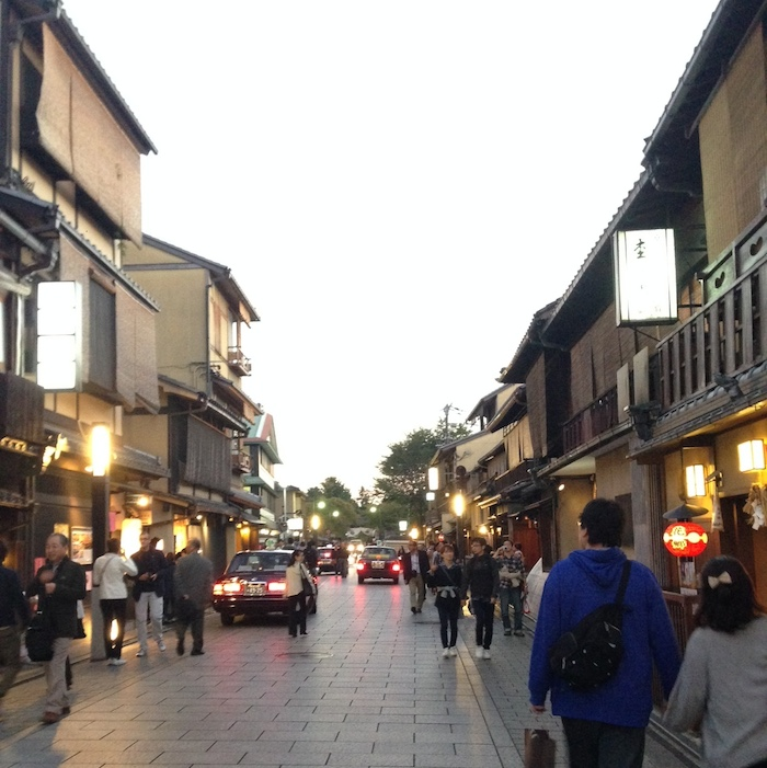 Dicas de Kyoto - viagem para o Japão - Rua das Gueixas
