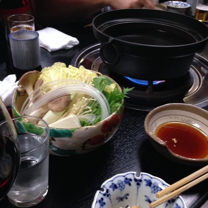 Dicas de Kyoto - viagem para o Japão - Shabu Shabu