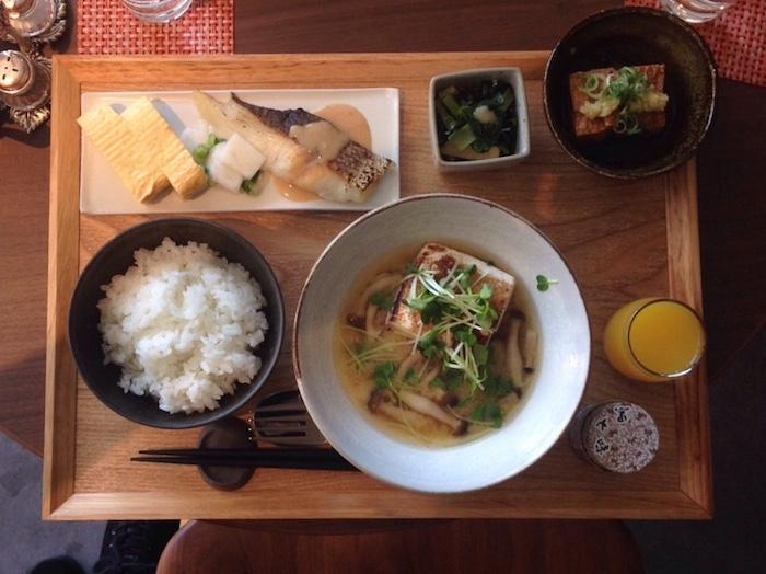 Dicas de Kyoto - viagem para o Japão - café da manhã