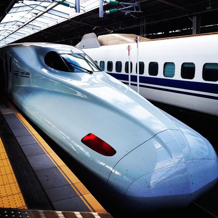 Dicas de Kyoto - viagem para o Japão - trem bala
