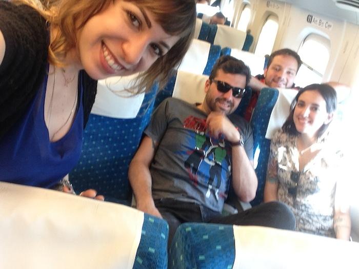 Dicas de Kyoto - viagem para o Japão - trem2