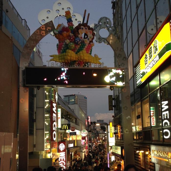 Dicas de Tóquio - viagem para o Japão - takeshita